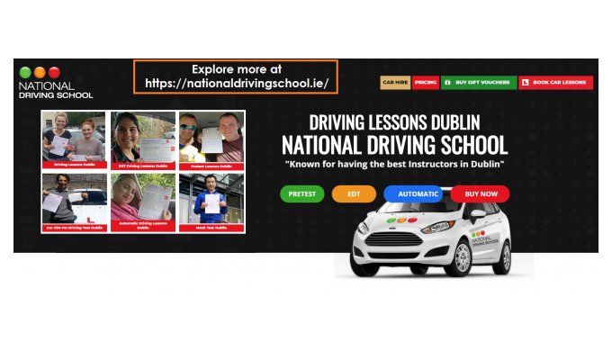 Welcome to the National Driving School of learning with a quality network of centres across Dublin. ...