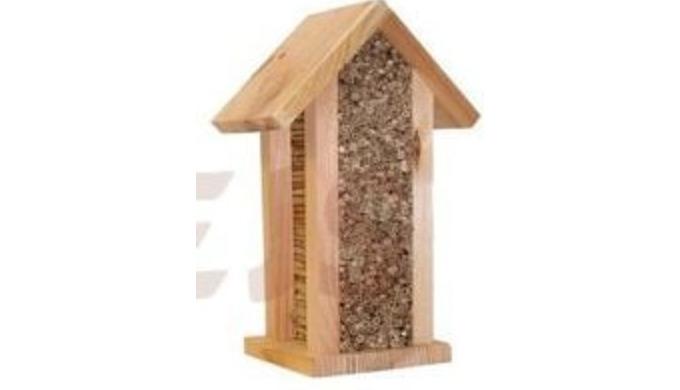 Hotele dla insektów drewno