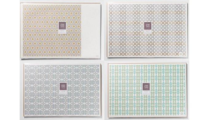 Korean Modern Pattern PLCAEMAT (L)   ZARI