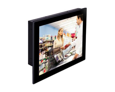 15'' 1024x768 Intel Atom® E3800 Touch Panel PC 1x 2.5'' SATA drive bay IP65 Front Panel Protection V...