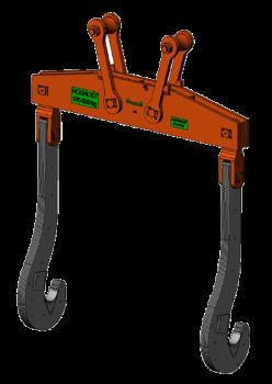 Traverzy slouží pro transport a otáčení licích pánví. Traverza se skládá ze samotné traverzy, křížov...