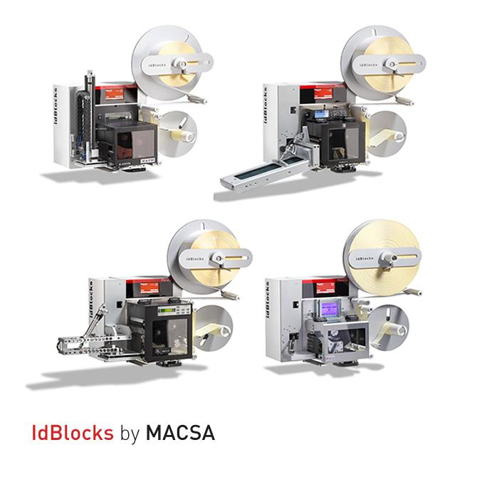Printers application to high productions: idBlocks