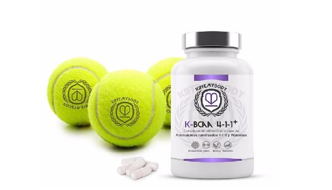 Mejora la recuperación, neutraliza el catabolismo muscular y aumenta el desarrollo muscular con K-BC...