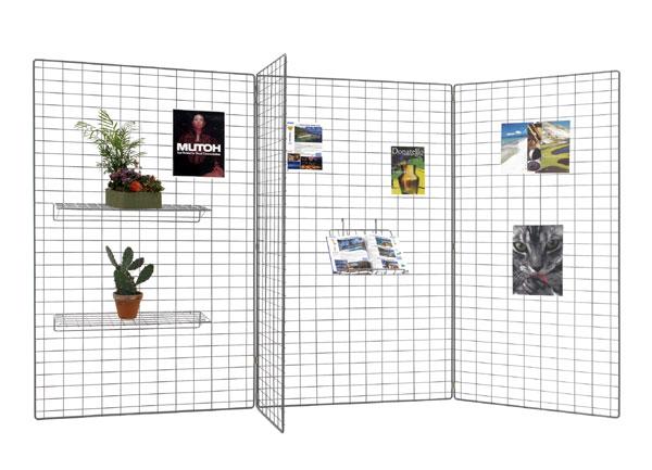 Très belle gamme pour vos expositions !Utilisation isolée avec pieds 216002 ou en zig zag ou en tour...