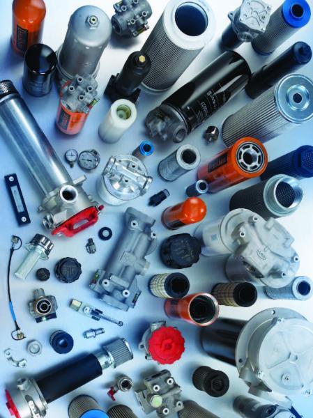 Hydraulické filtry, hydraulické filtrační vložky