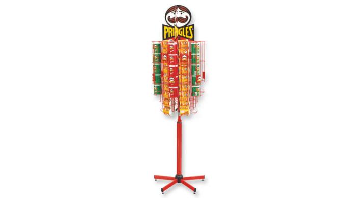 Pringels roterande stativ
