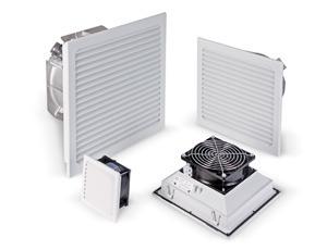 Zur Belüftung von Schaltschränken und Gehäusen Verschiedene Filtermatten zur Staubfilterung Serie LV...