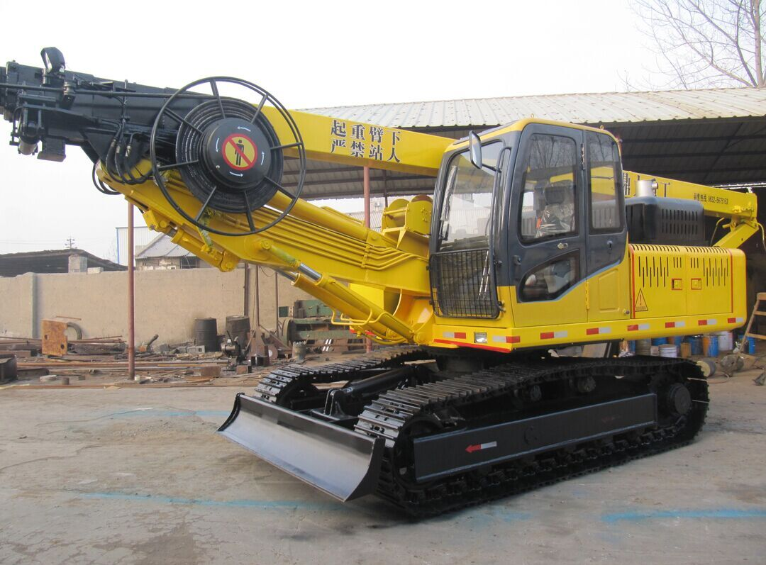 DR-200 Crawler Drilling Rig can be Widely used in urban high-rise buildings, railways, highways, Bri...