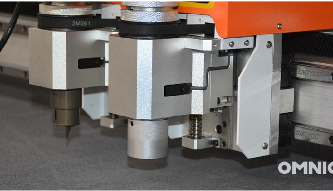 CNC Digital Cutting Machine B Model is designed to cut soft material with auto conveyor system. It c...