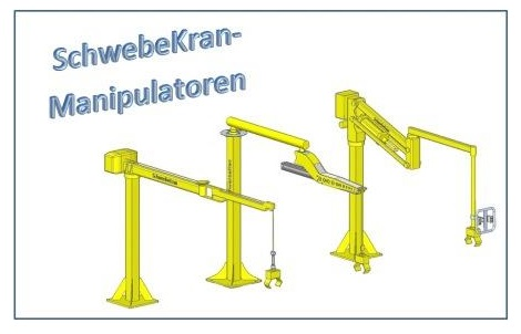 SchwebeKran-Manipulatoren