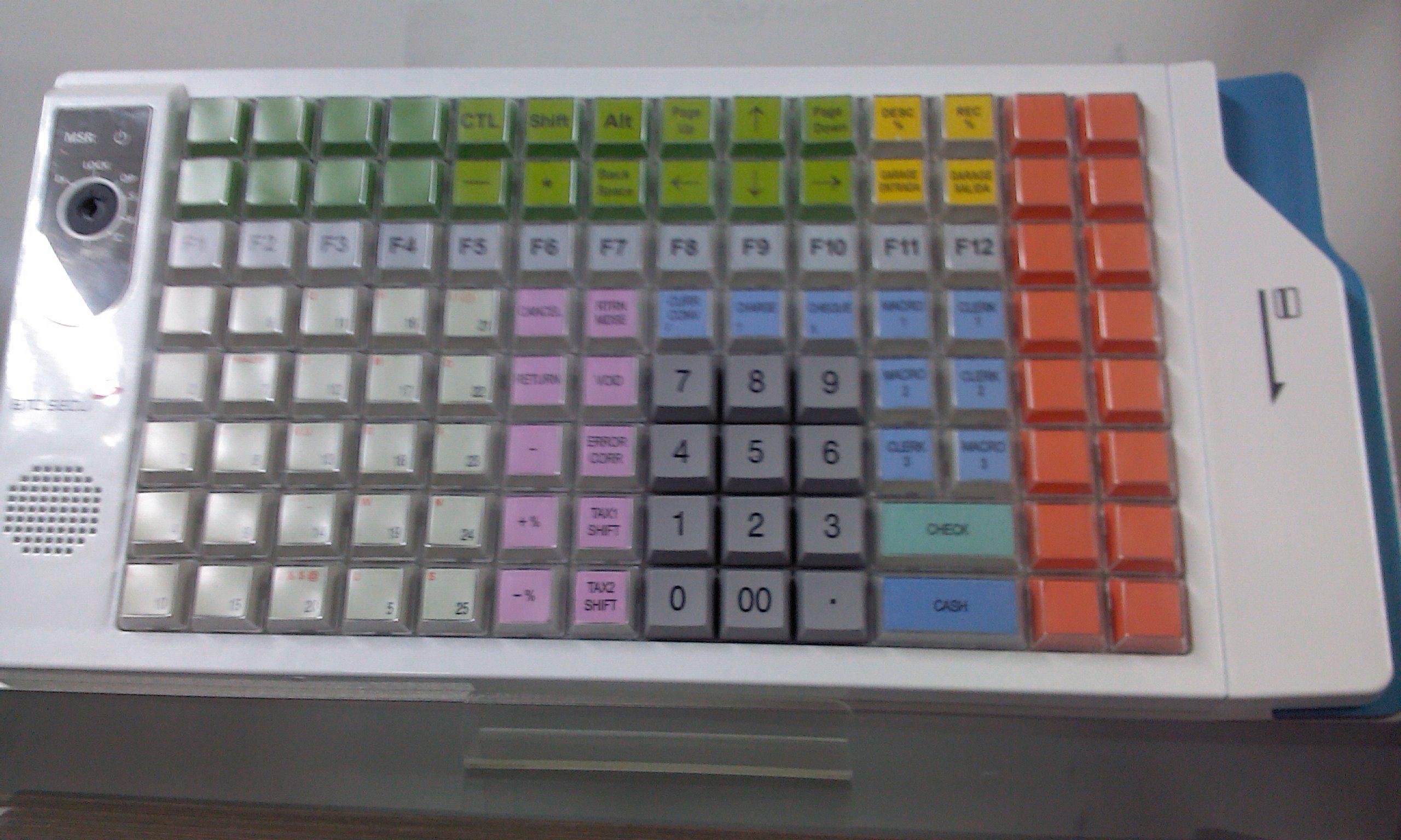 Retail Keyboard