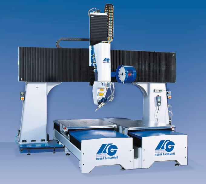 High-Speed-Zerspanung HG Portalfräsanlagen sind auf die Hochgeschwindigkeitszerspanung mittlerer bis...