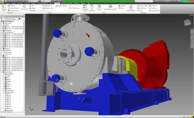 Konstrukce, projektová dokumentace strojů, strojních zařízení