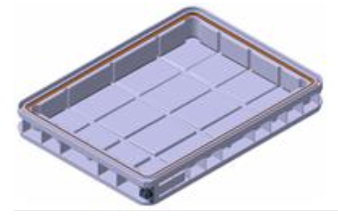Airtight tray for LCD Optical film