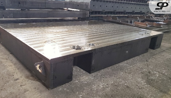 welding and machining machinery stone machine steel base
