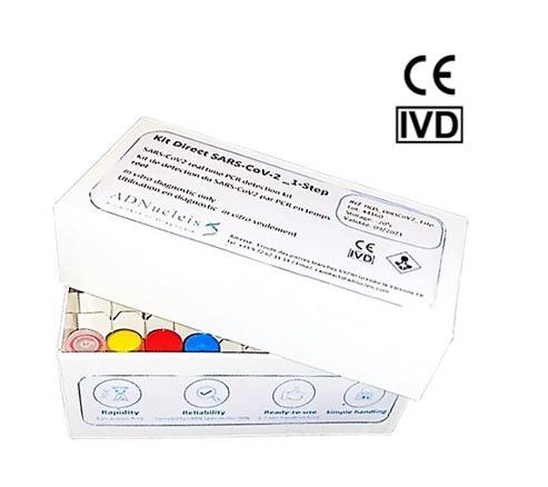 Kit Direct de détection de SARS-CoV-2 One Step Par RT-PCR en temps réel