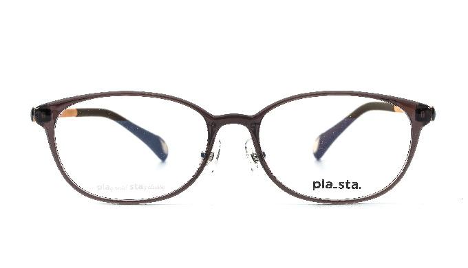 PLASTA / PS-102 Col.23 Rood Bruin / Klassiek / Korea glas
