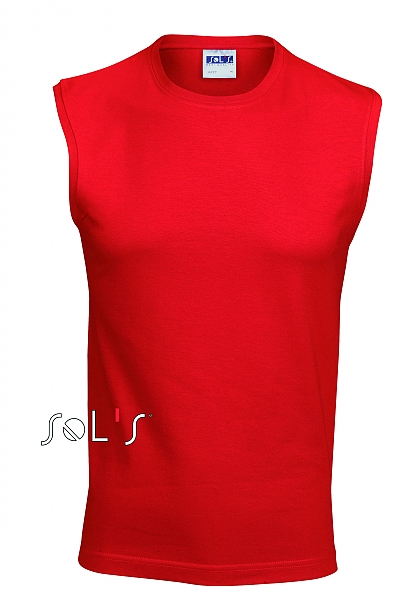 Tee-shirt homme Jazzy sans manches couleur