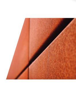 CLISSON METAL vous présente les tôles anti corrosion de type « CORTEN », des tôles offrant une résis...