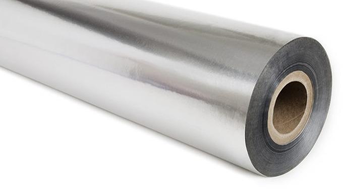 Barrière Aluminium Rouleaux Ces rouleaux de film barrière de qualité commerciale présentent des cara...