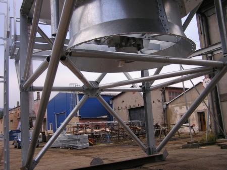 Svařované ocelové konstrukce Děčín