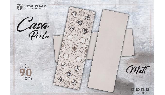 Size: 30x90cm Color: Perla #Decor Type: Wall_Tile Finish: Matt