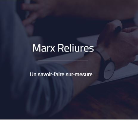 Marx Reliures, spécialiste de l'échantillonnage et de la reliure, propose un service dans l'édition ...