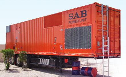 SAB Standard Aggregatebau: Kompetente und innovative Energieversorgung weltweit Fertigung von statio...