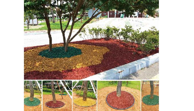Color mixed Organic Fertilizer for Landscape