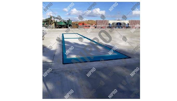 Blue Metal Industry Concrete Weighbridge