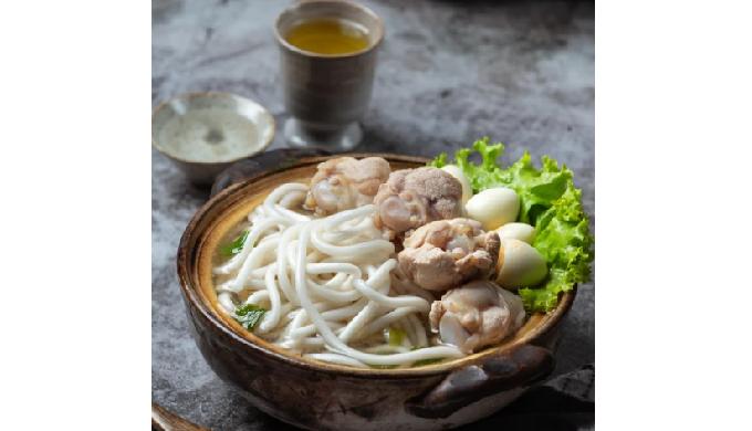 Frozen Sanuki udon noodle