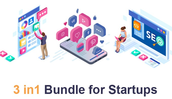 COMPREHENSIVE PACKAGE FOR STARTUPS. Your website can be the most powerful tool to present your compa...