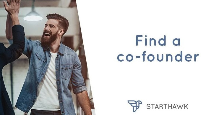 Starthawk is an online platform for finding a co-founder for startups and businesses. The platform a...