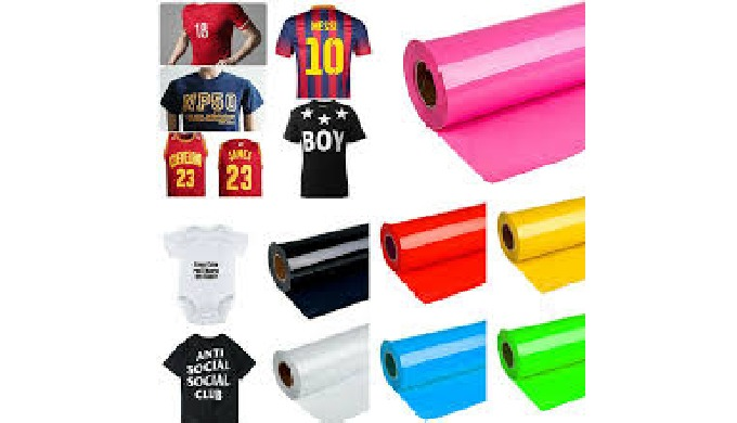"""""""ISHAAN INTERNATIONAL"""", is a reliable wholesaler, occupied in offering Heat Transfer Vinyl For Garme..."""