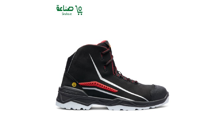 Airflow System Size Range: 38 – 48 EUR Colour : Black Upper Material: Nubuck Leather Lining Material...