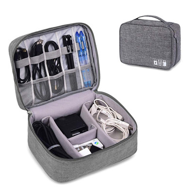 Multifunctional Digital Storage Bag Portable Waterproof Travel Shockproof Electronic Products Finishing Digital Bag