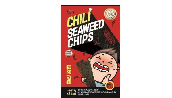 EYN CHILLI SEAWEED CHIPS -SPICY
