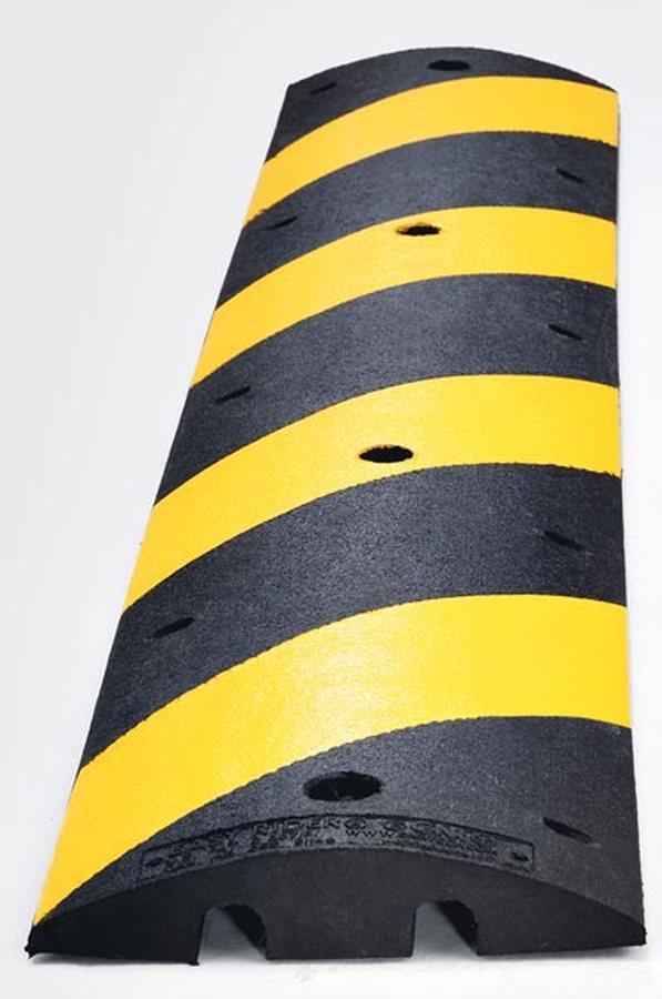 gelb / schwarz Aus Recycling-Kautschuk Hohe Signalwirkung durch reflektierende Signalstreifen und Ka...