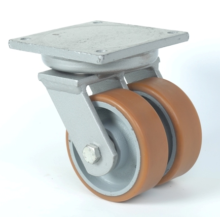 Zwaarlastwielen: zwenk- en vaste wielen in Vulkollan, polyamide, rubber, ...