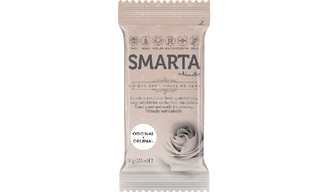 Smarta - Air Dry Soft Modeling Clay