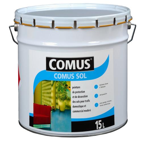 Peinture alkyde uréthane pour la décoration des sols soumis à un trafic domestique et commercial mod...