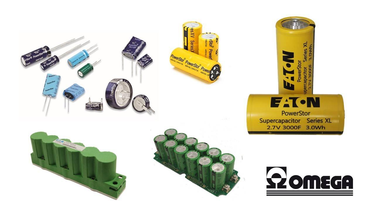 Les Supercondensateurs : la solution de stockage de l'énergie ! Les modèles de chez Bussmann / Eaton...