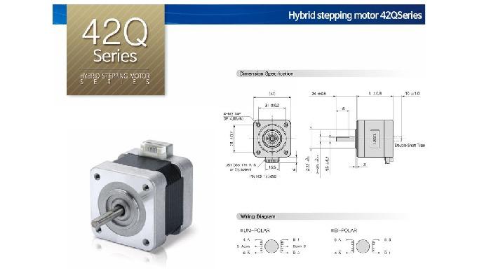 Hybrid stepping motor_42Q Series l gearhead hybrid stepping motor