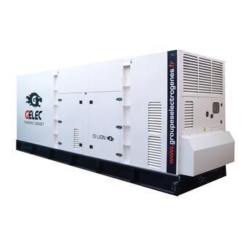Groupe électrogène de diesel 990 kVA : Ce groupe électrogène industriel est équipé d'un disjoncteur ...