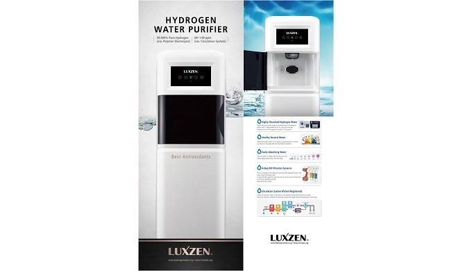 Depuratore d'acqua all'idrogeno (tipo STAND-TYPE)