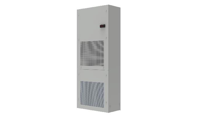 Le unità Module sono la migliore soluzione tecnica ed economica per il raffreddamento di lunghe file...