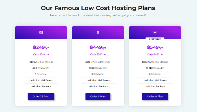 Due the high demand of hosting services that had to be hosted in Thailand itself. It was decided to ...