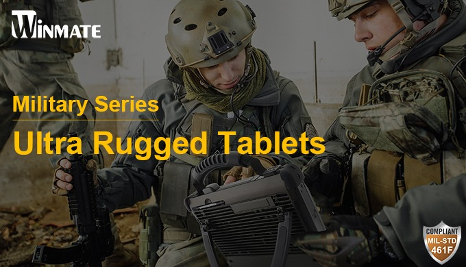 Winmate Unleashes the New Military-Grade Ultra Rugged Tablets