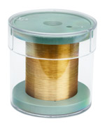 For applications that require tungsten to be gold plated, Luma metal offers gold plated tungsten wir...