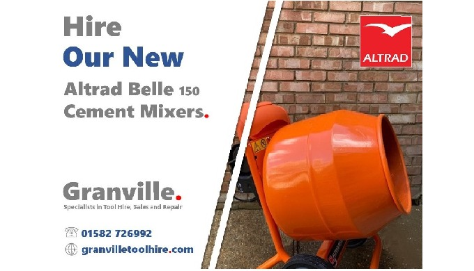 We're excited to add these brand-new Altrad Belle Cement Mixers to our building equipment hire optio...